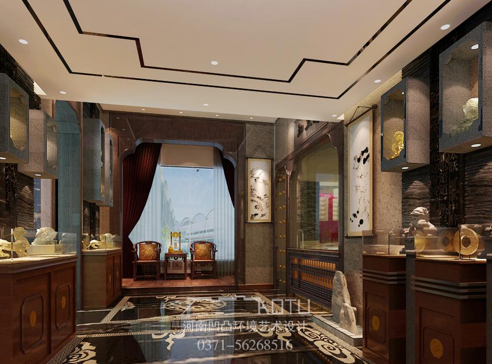 【会所设计】玉器会所设计方案 专业玉器会所设计公司