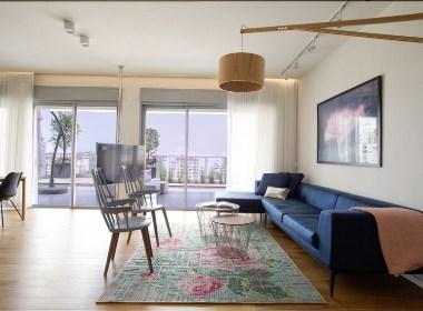 以色列现代时尚公寓--欧模网
