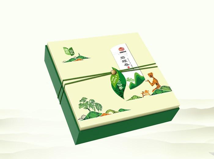 【汇包装】臻品国礼碧螺春茶叶礼盒包装设计