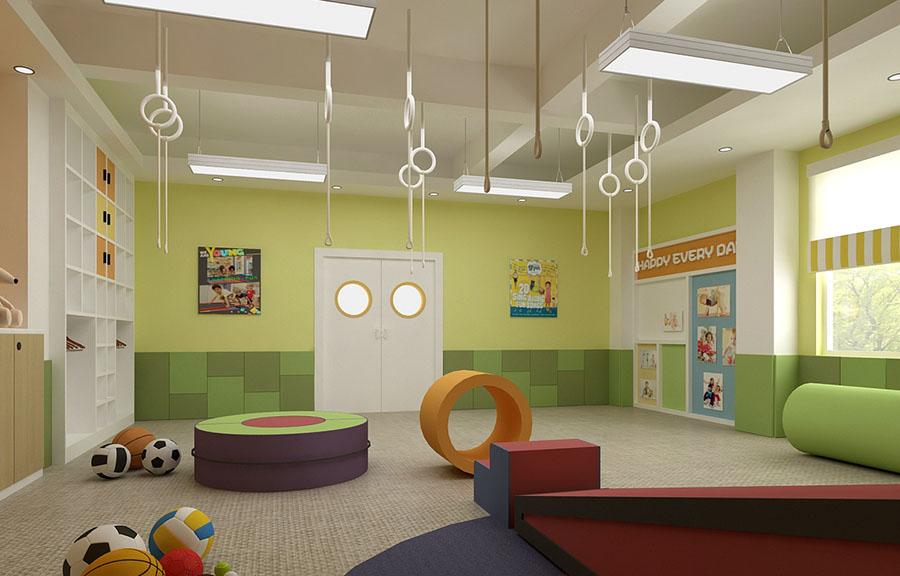 爱乐国际早教中心 成都早教中心设计 成都早教中心装修公司
