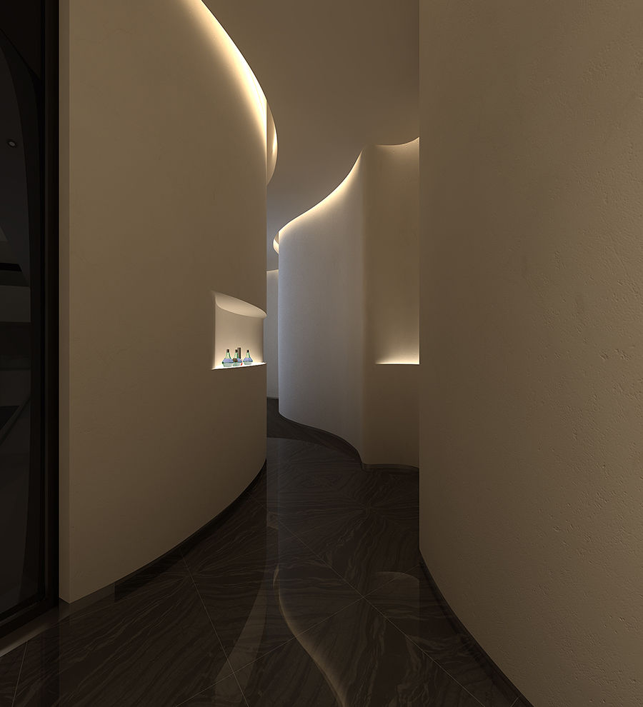 《英沃形象设计》四川美容院设计公司 四川美容院装修公司 四川美容院装修设计公司