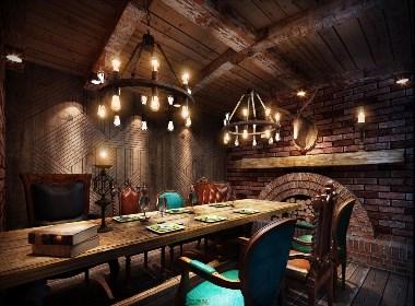 卢布里西餐厅-广安西餐厅设计|广安特色餐厅设计|广安餐厅设计公司
