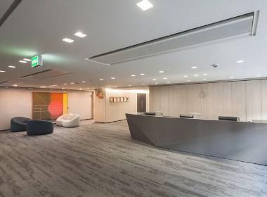 金融公司办公室装修设计效果图