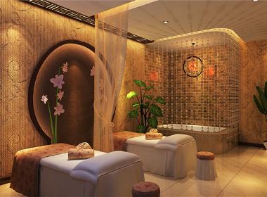 月亮湾美容院-绵阳美容院设计公司 绵阳专业美容院设计 绵阳美容院设计案例分享