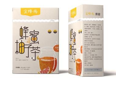 蜂蜜柚子茶包装设计