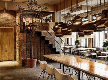 《Gu咖啡厅》六盘水咖啡厅设计|六盘水咖啡厅设计公司