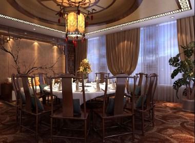 六盘水餐厅专业设计|六盘水餐厅专业设计公司《清风醉中餐厅》
