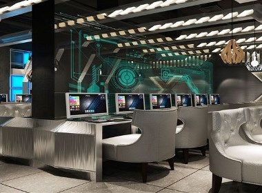 《博派网咖》六盘水网咖网吧设计|六盘水网咖网吧设计公司