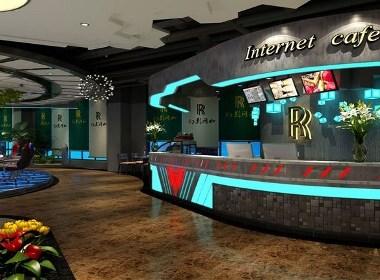 六盘水网咖网吧设计|六盘水网咖网吧设计公司《幻影网咖》