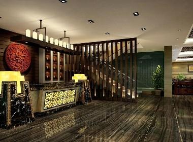 《景天食府》六盘水餐厅设计|六盘水餐厅设计公司