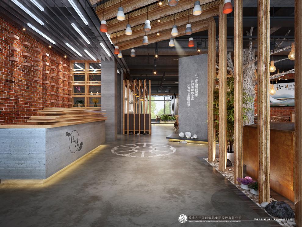 【悦辣火锅店】-邛崃火锅店设计公司案例赏析