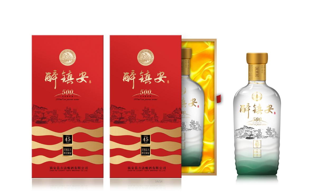 白酒(拐枣酒)外包装设计