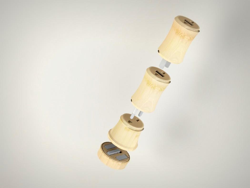 魔术竹竿工具器