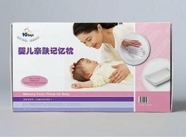 婴儿记忆枕产品包装设计 | 摩尼视觉原创