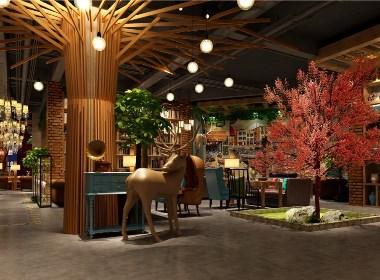 陌咖啡-都江堰咖啡厅设计,都江堰咖啡厅设计公司