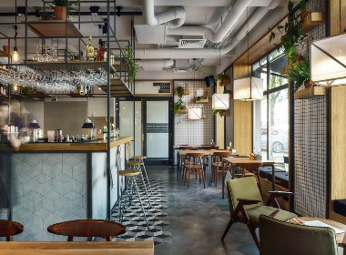 STUDIO气氛咖啡吧-泸州咖啡厅装修设计公司