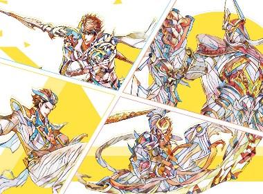 王者荣耀-多彩手绘