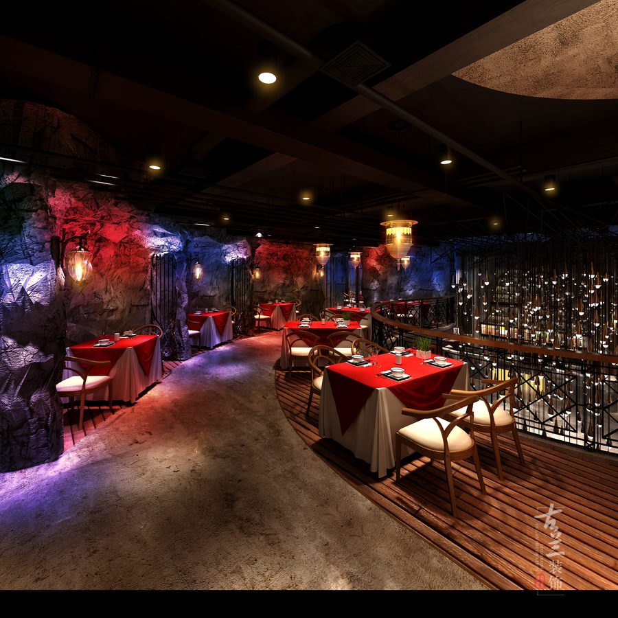 餐厅】成都主题餐厅装修设计|成都专业餐厅装修设计公司-时尚炫酷餐厅
