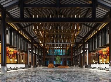 乐山雅阁星级酒店设计—龙濯雅阁酒店—水木源创