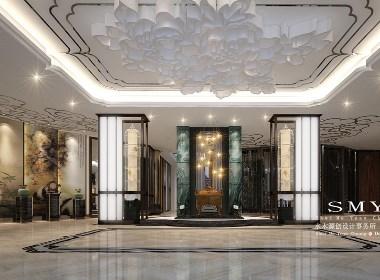 成都青羊区精品酒店设计—潮皇阁酒店—水木源创设计