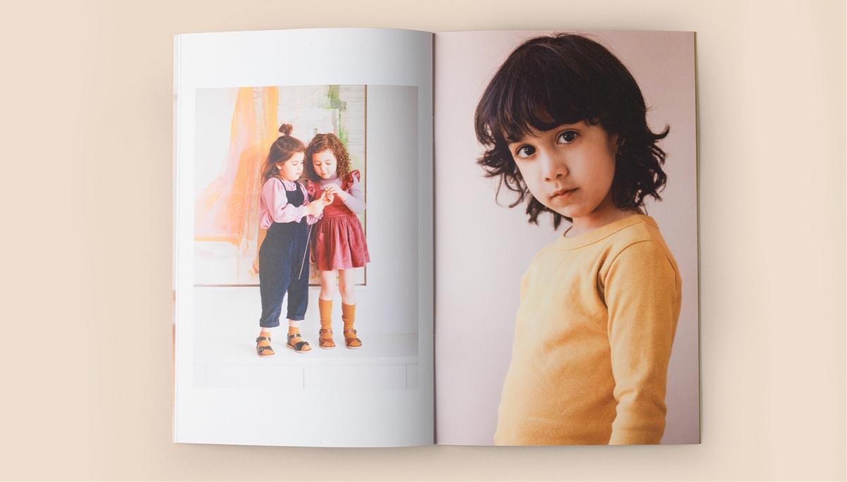 Petits Vilains儿童服装品牌形象设计
