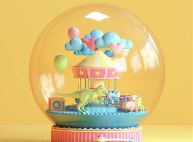 make a wish——圣诞水晶球设计