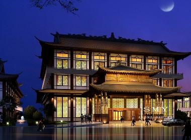 别墅式酒店设计、会所式酒店设计—SMY设计