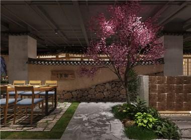 花园餐厅|眉山餐厅装修|眉山餐厅装修公司