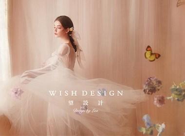 初恋像一场粉色的梦,兰奕婚纱2018新作品