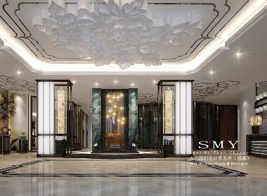 成都潮皇阁主题酒店设计—星级的主题酒店—SMY设计