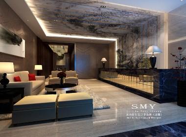 泸州商务酒店设计效果图—水木源创设计