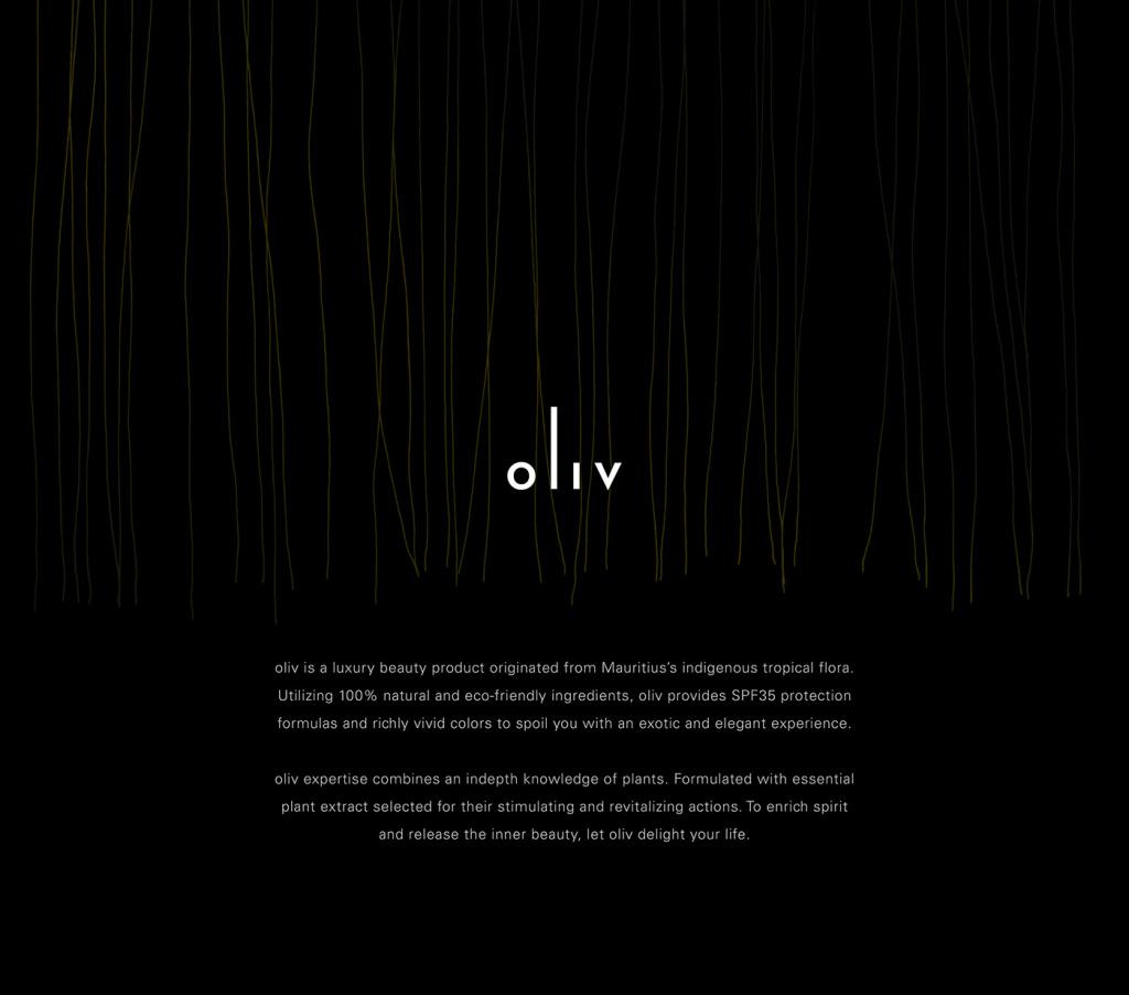 oliv高端化妆品品牌包装设计