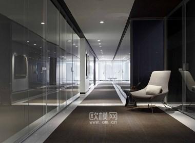 卡尔加里简约现代风办公室设计-欧模网分享