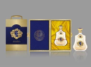 盛久醇人参酒创新设计包装