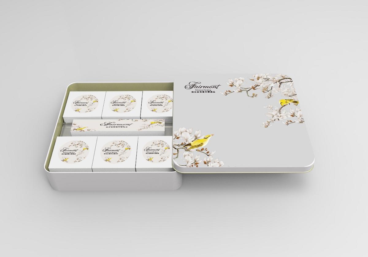 【汇包装】费尔蒙月饼礼盒定制