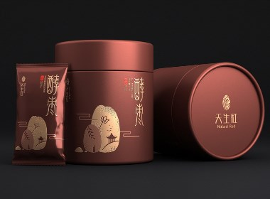 红酵枣包装设计 红枣礼盒包装设计 保健食品包装设计
