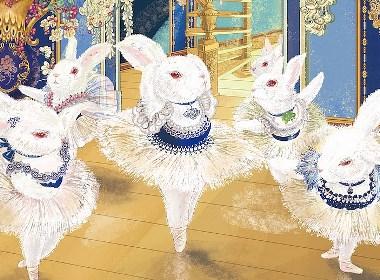 CuteBallet可爱芭蕾插画欣赏