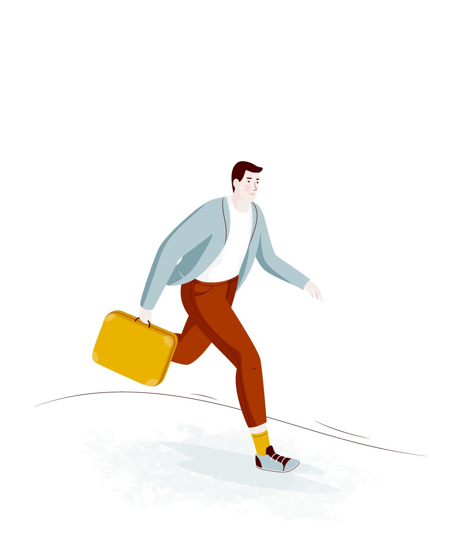 旅途插画欣赏