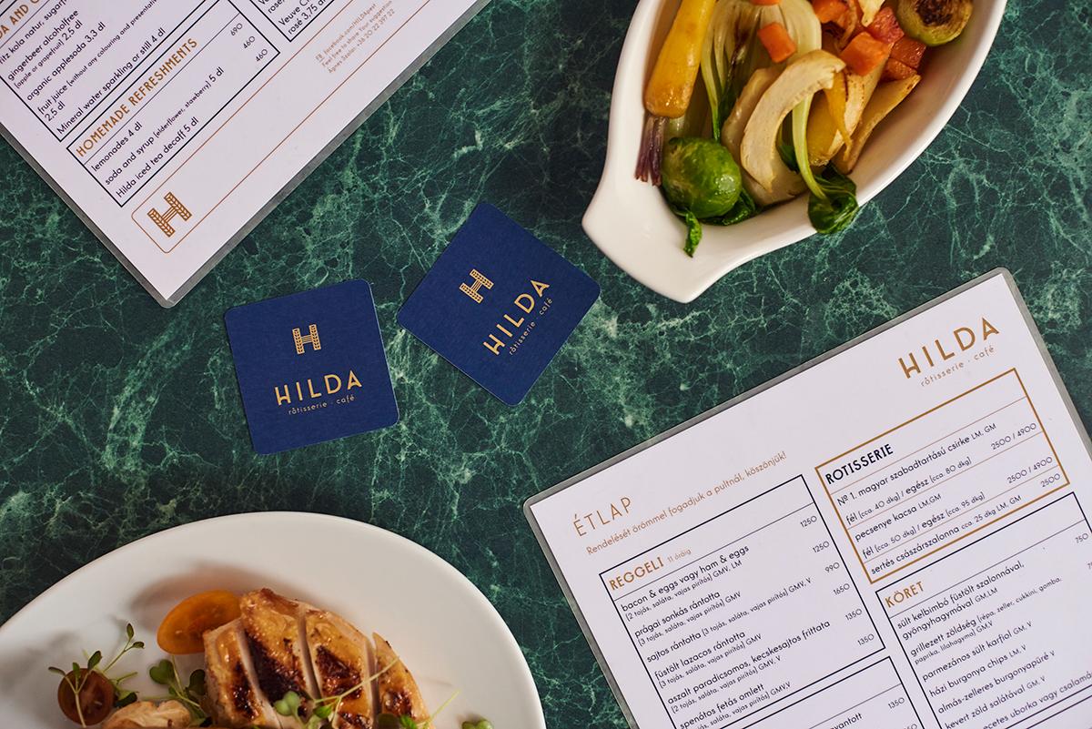 HILDA餐饮品牌设计