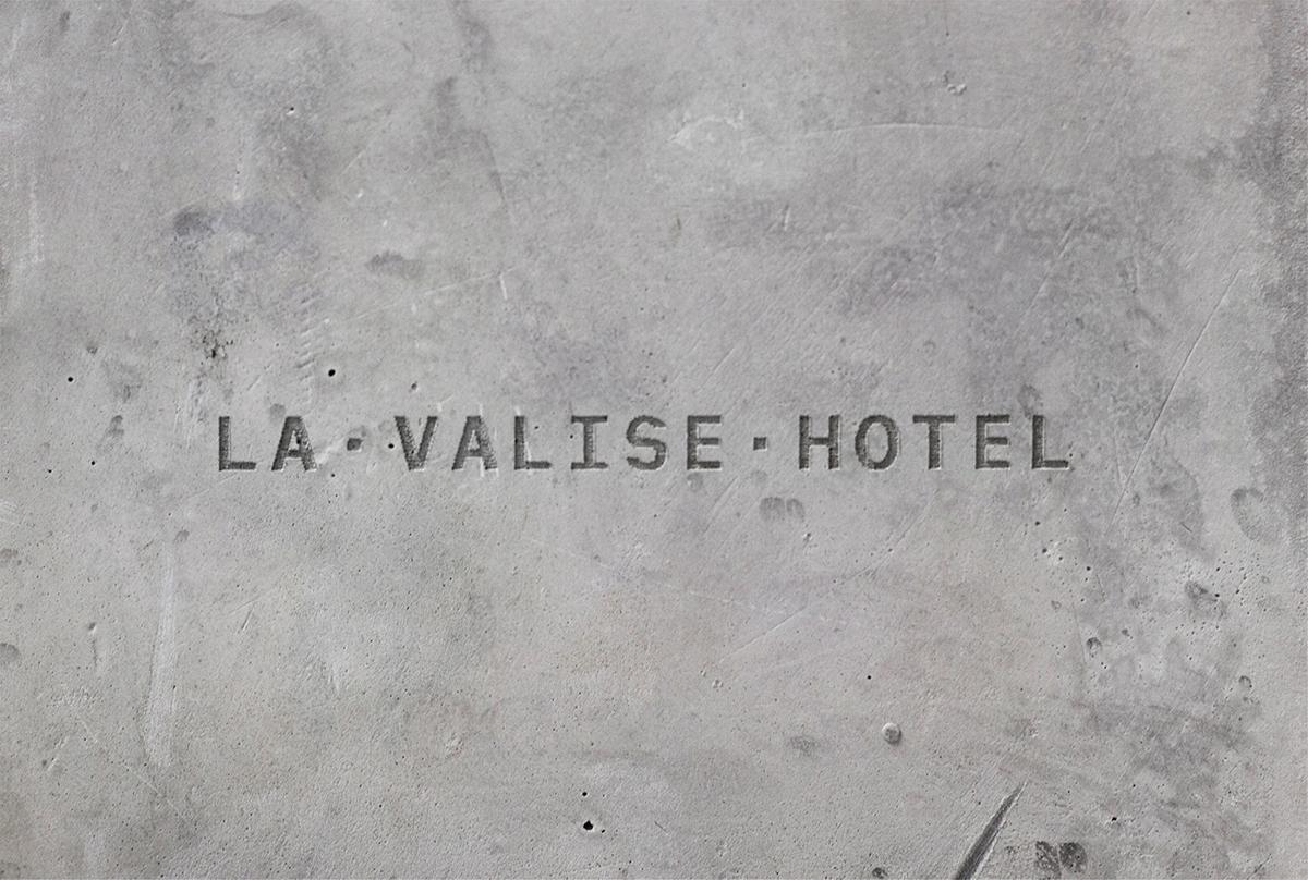 La Valise独特个性的墨西哥酒店品牌VI设计