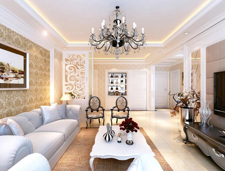 一【吊灯选择】 在客厅里一定要有很多朋友都会考虑如何去选择客厅的灯光吧,在选择客厅的灯光时,可以为客厅选择优雅的枝形吊灯来装饰,在客厅里不是每个地方吊灯都是漂亮的,而客厅也需要选择不同的吊灯。对于室内低层的客厅,选择一些简洁的吊灯更合适。假如是双入、跃层等室内空间,则可以设计出更豪华的长型吊灯,营造别墅的氛围。