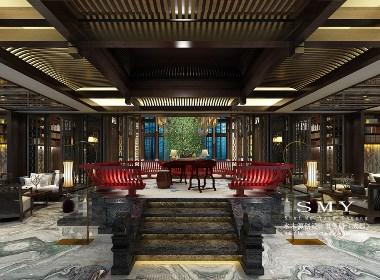 四川中式禅意酒店设计—禅意酒店设计说明—水木源创
