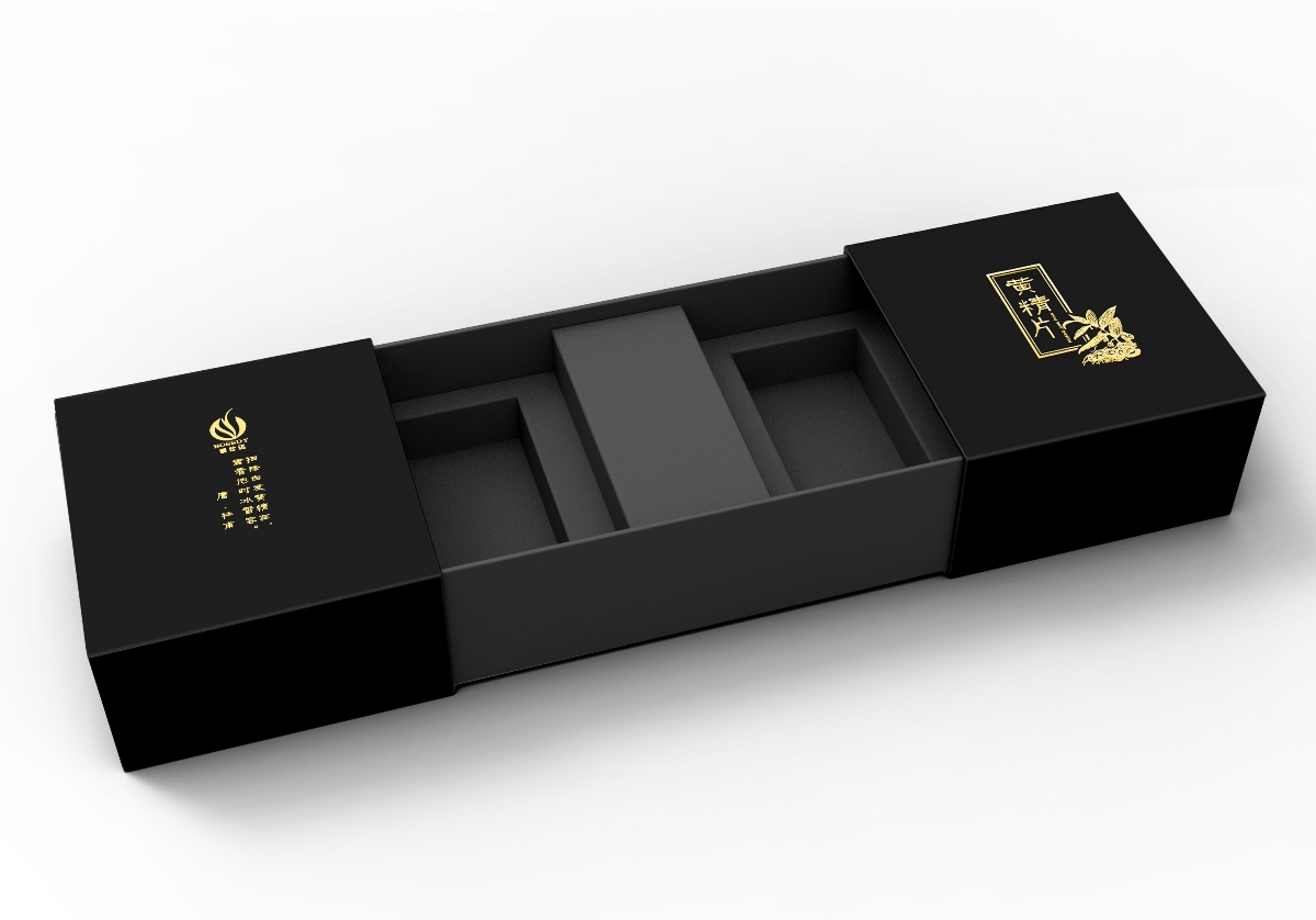 【汇包装】黄精片礼盒设计