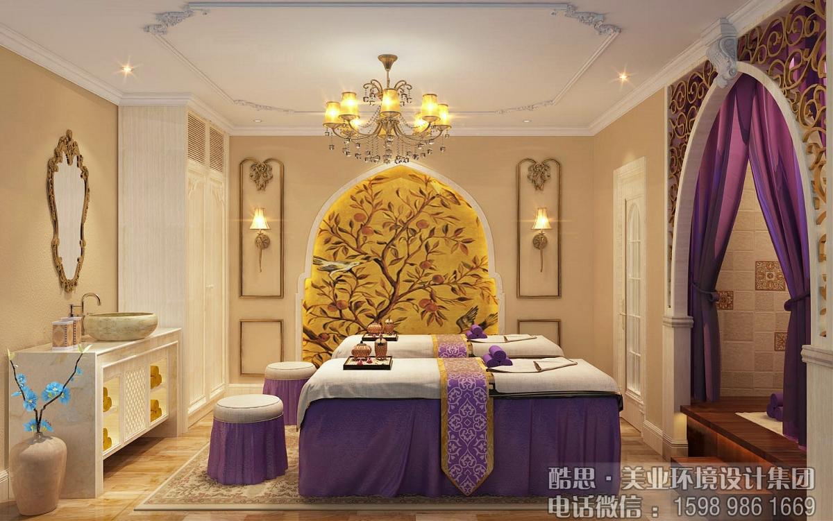 美容院装修设计之欧式风格