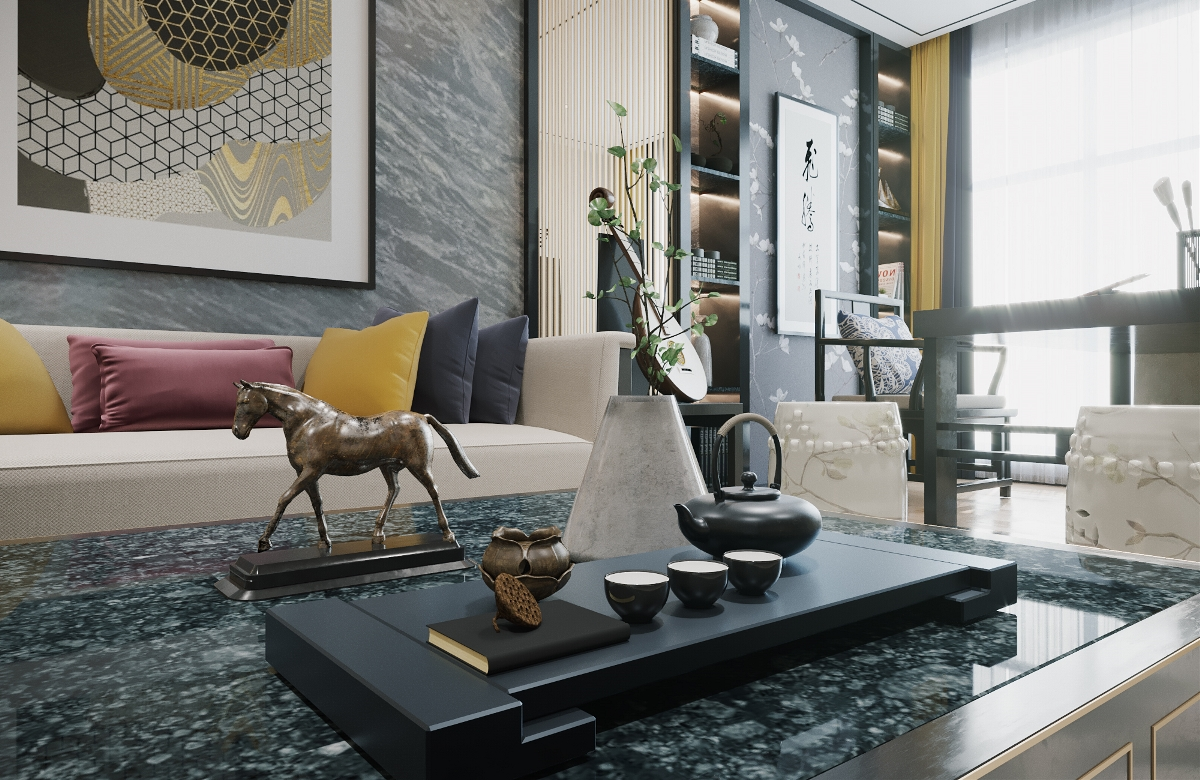 室内设计corona表现作品图片