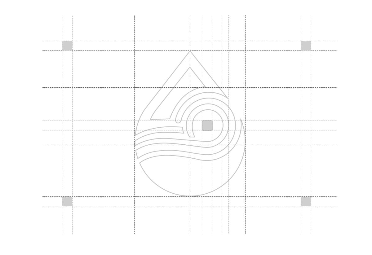 水滴金融标志设计