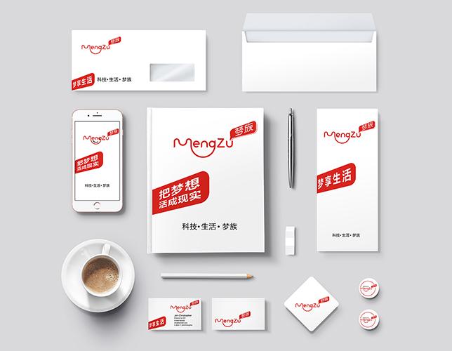 梦族 电商品牌形象设计