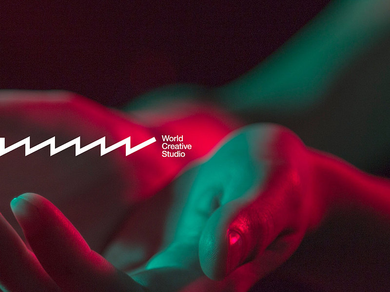 MTV旗下世界创意工作室(World Creative Studio)品牌标志设计
