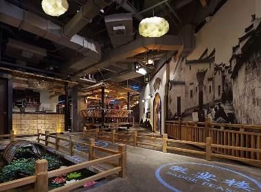 徽宴楼中餐厅-成都专业中餐厅装修设计公司