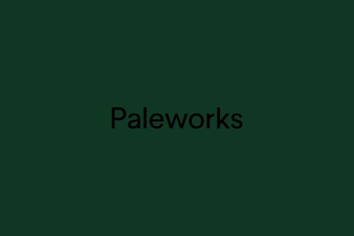 Paleworks品牌设计